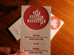 card > the hungry workshop