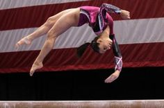 gymnasts are the baddest girls out there