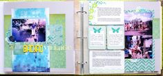 Five ways to mix pocket pages with standard scrapbook pages