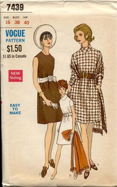 1960's Dress with high collar