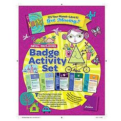 Girl Scout Junior Badge Activity Set. Get Moving! It's Your Planet - Love It! $4