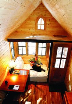 Living well in much less space: Tiny houses catching on