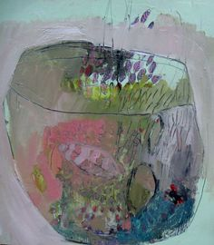 Terrarium Original oil painting on paper by BrookeWandall