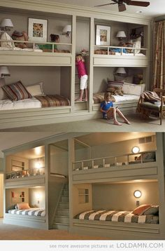 Great for basement. When everyone comes to stay or during hunting season so you don't wake the rest of the house