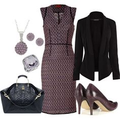"""purple and black"" by clr36 on Polyvore"