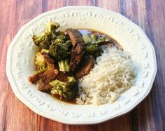 Crockpot Wednesdays - Slow Cooker Beef & Broccoli - Yours and Mine ARE Ours