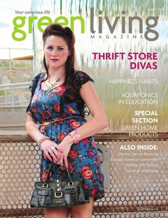 live august, thrift store, green live, august 2014, store diva