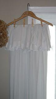 curtain rod curtains