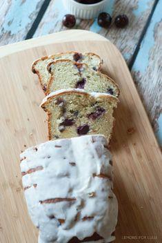 This quick bread is the perfect way to use up seasonally fresh cherries! www.lemonsforlulu.com