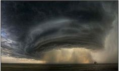 Supercell Thunderstorm in Montana, 2010 (US)