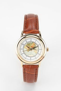 I saw a watch like this on pinterest the other day, and now where it is at Urban Outfitters!! I need it.