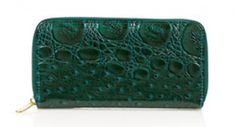 Emerald wallet from @topshop via @Glitter Guide