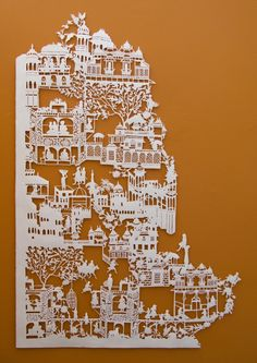 All matter that exists 2009 by Emma Van Leest - archival paper #paper_art #paper_cut (I am in awe of this artist's technical precision!)