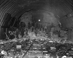 Beaucatcher Tunnel under construction