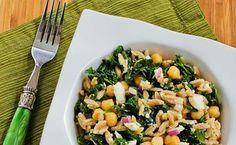Mediterranean Inspired - Whole Wheat Orzo Salad with Kale, Chickpeas, Lemon, and Feta recipe