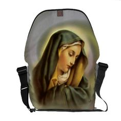 Your handbag with an extremely rich image the Blessed Virgin Mary.
