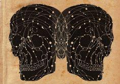 The Constellation of the Skulls II by inkandar on Etsy, $20.00