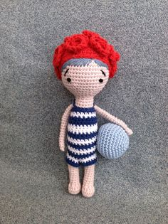 Handmade Crochet Doll by My Petit Pois on Etsy