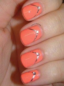 Flip flops! Spring Nail Art