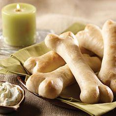French Bread Femurs | MyRecipes.com