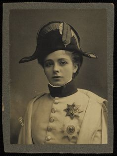 Mercedes de Acosta (March 1 1893 – May 9 1968) - was an American Poet, playwright, costume designer and socialite, famous for her numerous lesbian affairs.