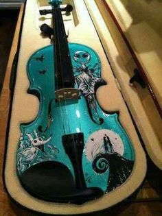 *TEAL ~ Unique and Gorgeous Violin