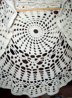 katia ta: stola fiordilatte....crochet,diy,uncinetto