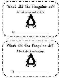 Penguin ed ending book- emergent reader
