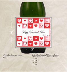 valentine beer labels