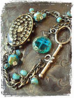 charm bracelets, jewelry bracelets, pretti bracelet, resin, blue charm