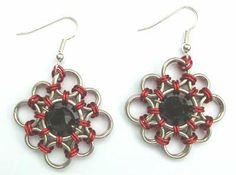 Learn a Weave - Japanese Diamond Earrings - Beadsisters