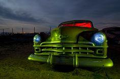Night photos reveal 'Lost America'