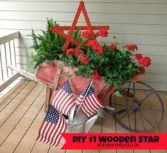 $1 DIY Wooden Star - GrandparentsPlus.com