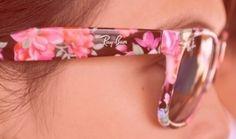 ray bans, fashion, style, accessori, shade, ray ban sunglasses, flower patterns, ray ban outlet, raybans