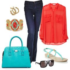 """""""Fifty not Frumpy"""" by susanstreet on Polyvore"""