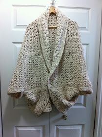 a Passion 4 CROCHET: My Oversize Crochet Shrug