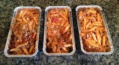 A Little Bolt of Life: Cooking for Two - Baked Ziti