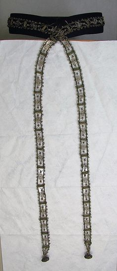 16th century Italian girdle