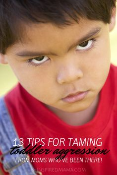 13 Tips for Taming Toddler Aggression [From the Mouths of Moms] - #kids #parenting #kbn #binspiredmama