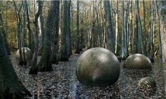 Carved stone balls found across Bosnia are similar to ones found in Costa Rica. 390 stone balls have been found in Costa Rica, all finely finished. People who found them said they are always found in groups of three in a triangle & always in the North-South direction, generally found on hills. No one knows how many of these stone balls exist in Bosnia but the number found to date may represent a small fraction. The Bosnian balls have been buried & accidental findings are bringing them to light.