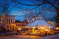 Leavenworth Christmas wedding