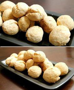 Paleo and gluten-free: Coconut Bread Bites