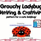 Writing prompt and craftivity to go with Eric Carle's The Grouchy Ladybug.  Includes: Ladybug paper craft patterns Planning page 2 writing pages   ...