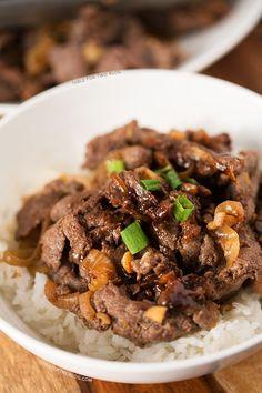 Korean Bulgogi   tablefortwoblog.com
