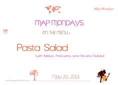 http://cookingwithtricia.ca/recipes/map-mondays-2/pasta-salad/ #pastasalad