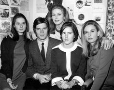 Isabella, Roberto, Isotta and Pia join their mother Ingrid Bergman in her dressing room