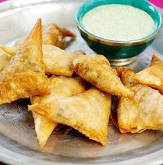 #Healthy Veggie Samosas - #Appetizers #Snacks