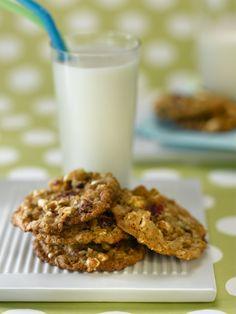 Healthy Popcorn Cookie Bars