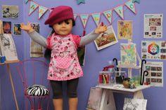 art studios, american girl, ag doll