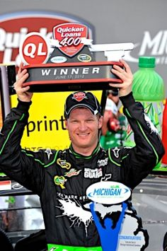 June 17, 2012) Earnhardt wins at Michigan.